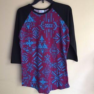 Lularoe 3/4 sleeves top